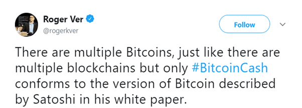 roger ver bitcoin cash twitter