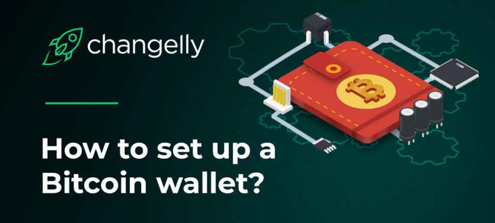 how to set up btc wallet
