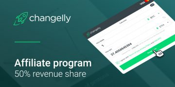 Changelly affiliate program 50% revenue share