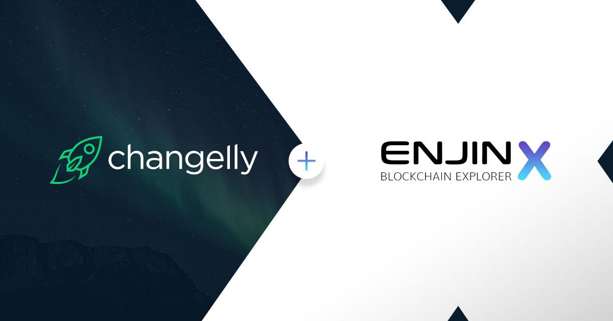 Changelly-EnjinX-partnership