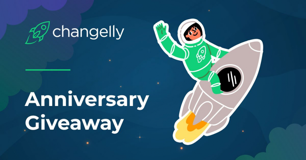 Changelly giveaway