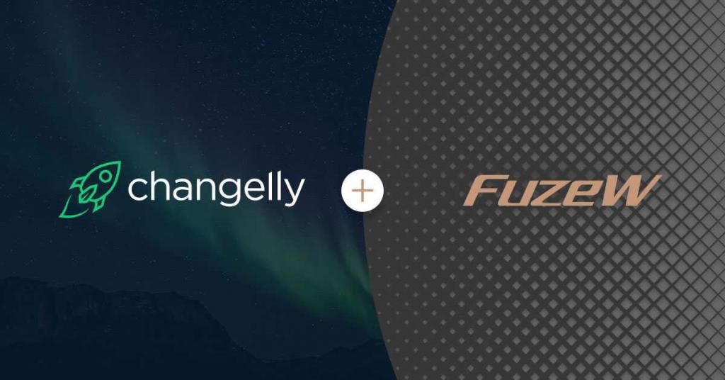 Changelly partners FuzeW