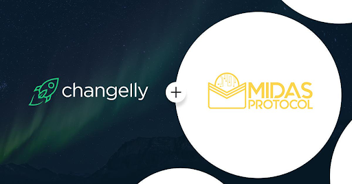 Changelly partners Midas Protocol