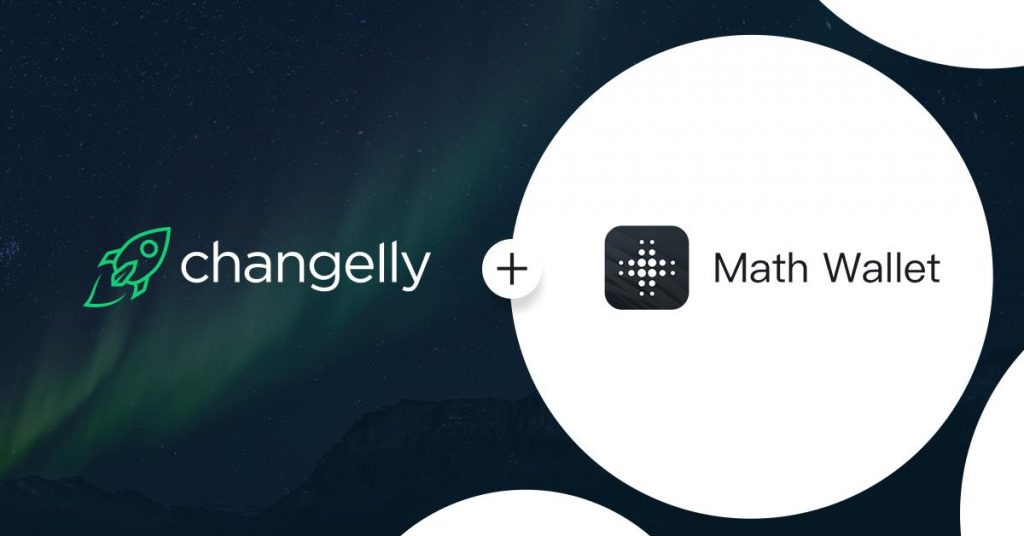 Changelly partners MathWallet