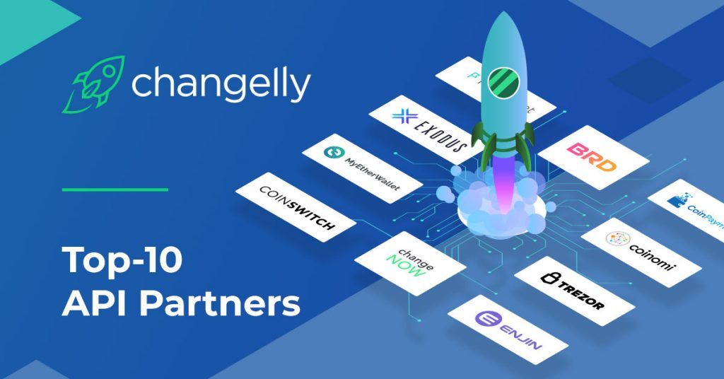Top-10 Changelly API Partners: Empowering Crypto Projects