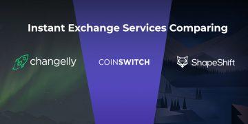 instant crypto exchange comparison