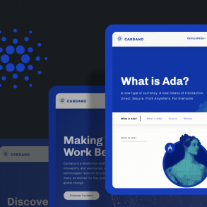 Cardano blockchain and ADA crypto coin article cover with ada lovelace image on it