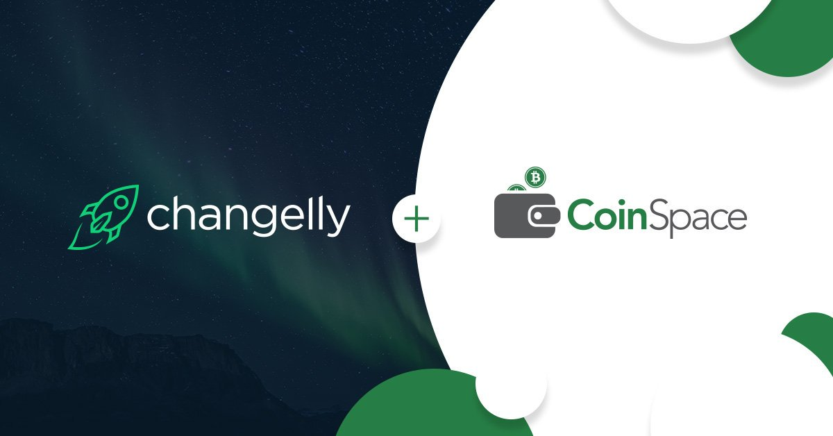 CoinSpace partners Changelly