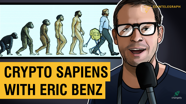 Crypto Sapiens with Eric Benz on CoinTelegraph