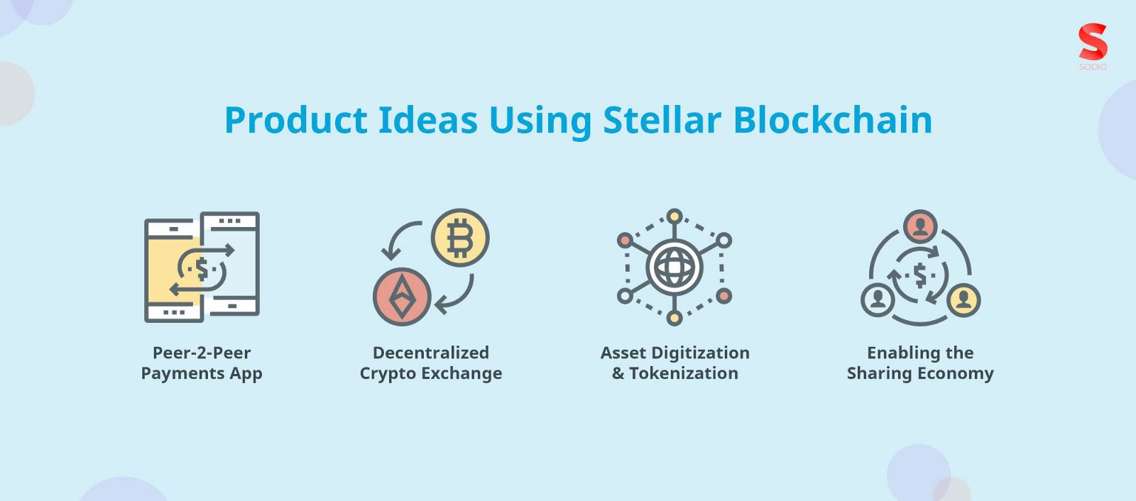 Stellar blockchain used for