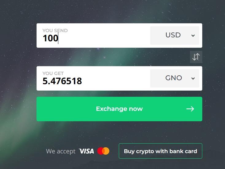 buy GNO coin