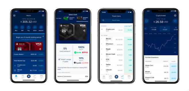 screenshot cryptocom app