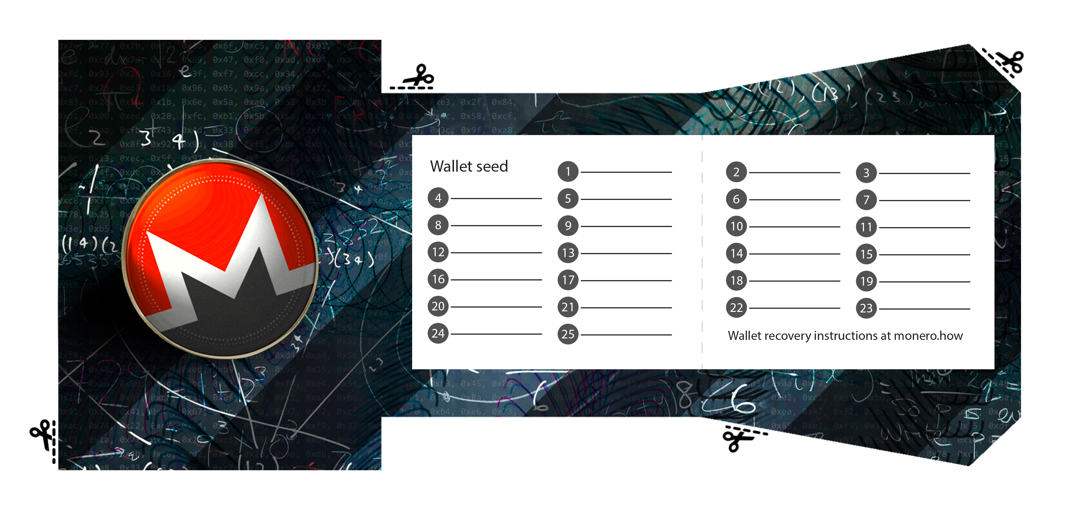 monero xmr paper wallet