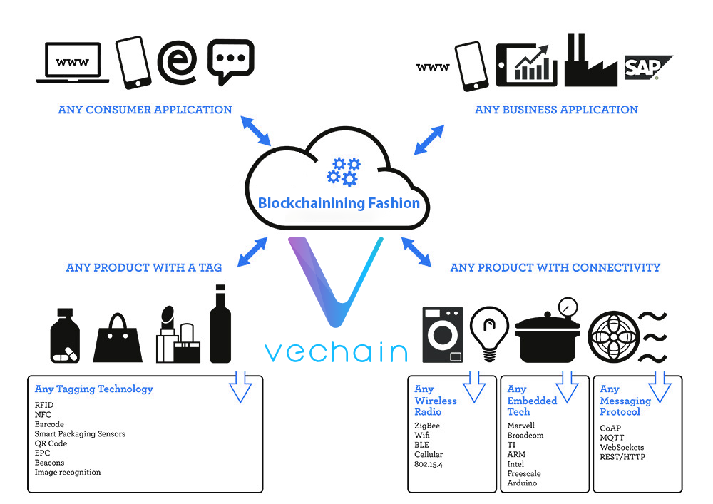 how does vechain network works
