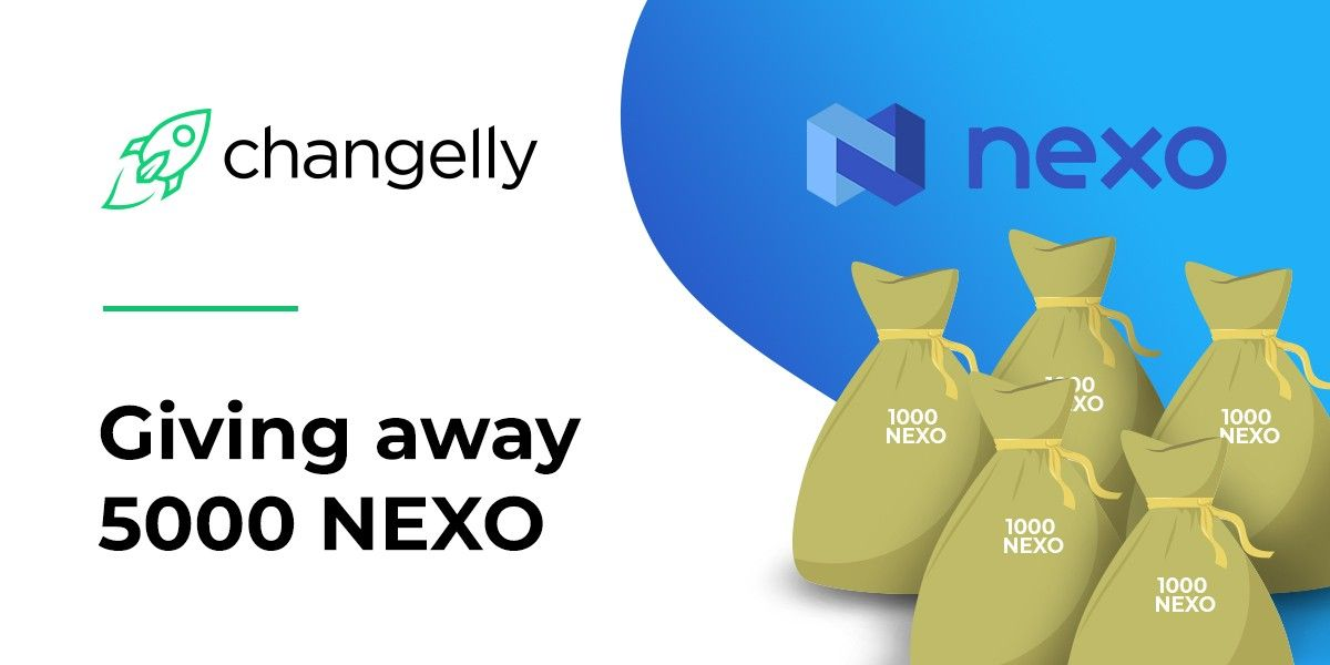 Changelly and NEXO giveaway win cryptocurrency