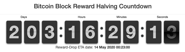 halving countdown