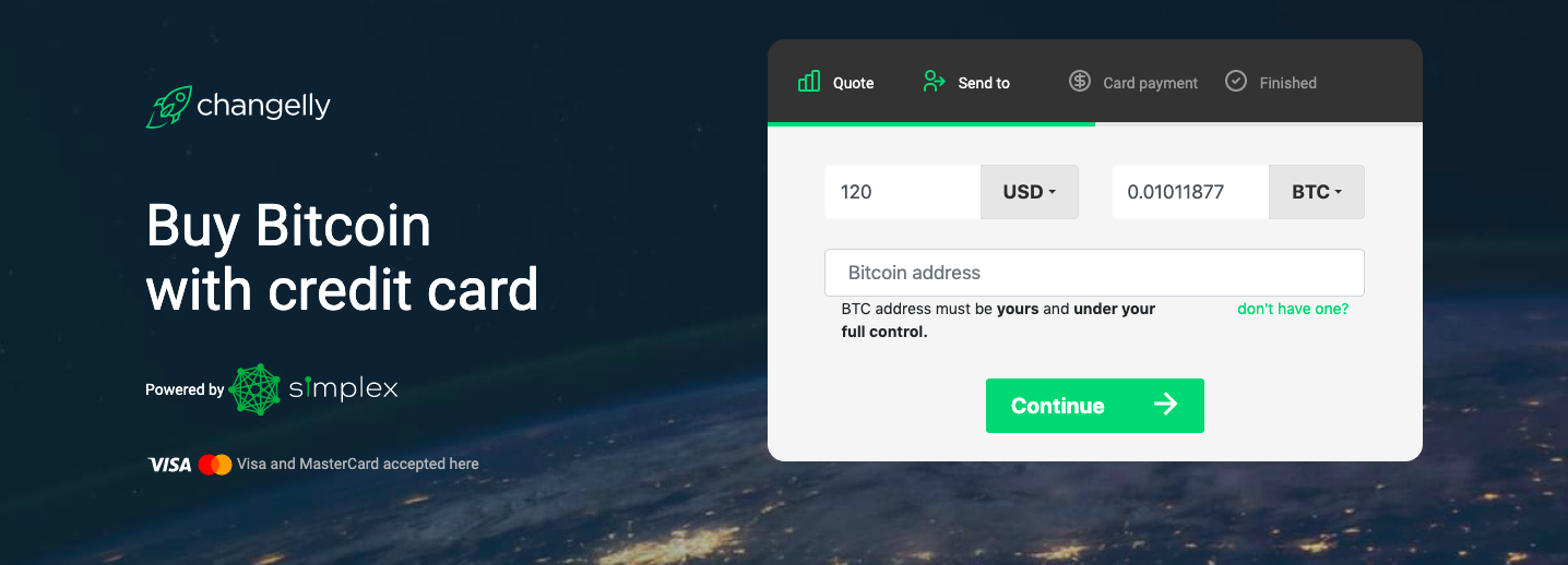 cosmos buy with credit card
