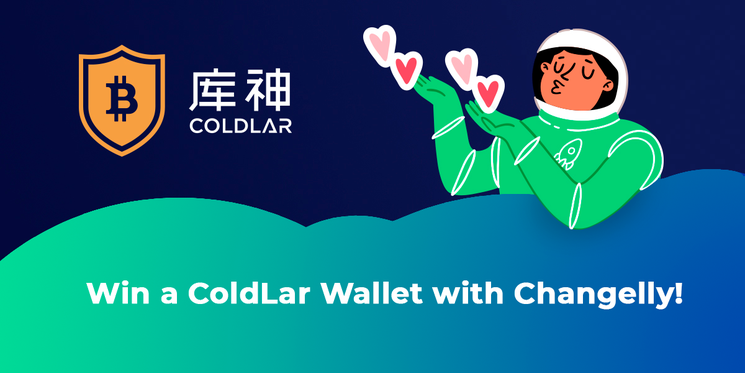 Win a coldlar wallet with Changelly