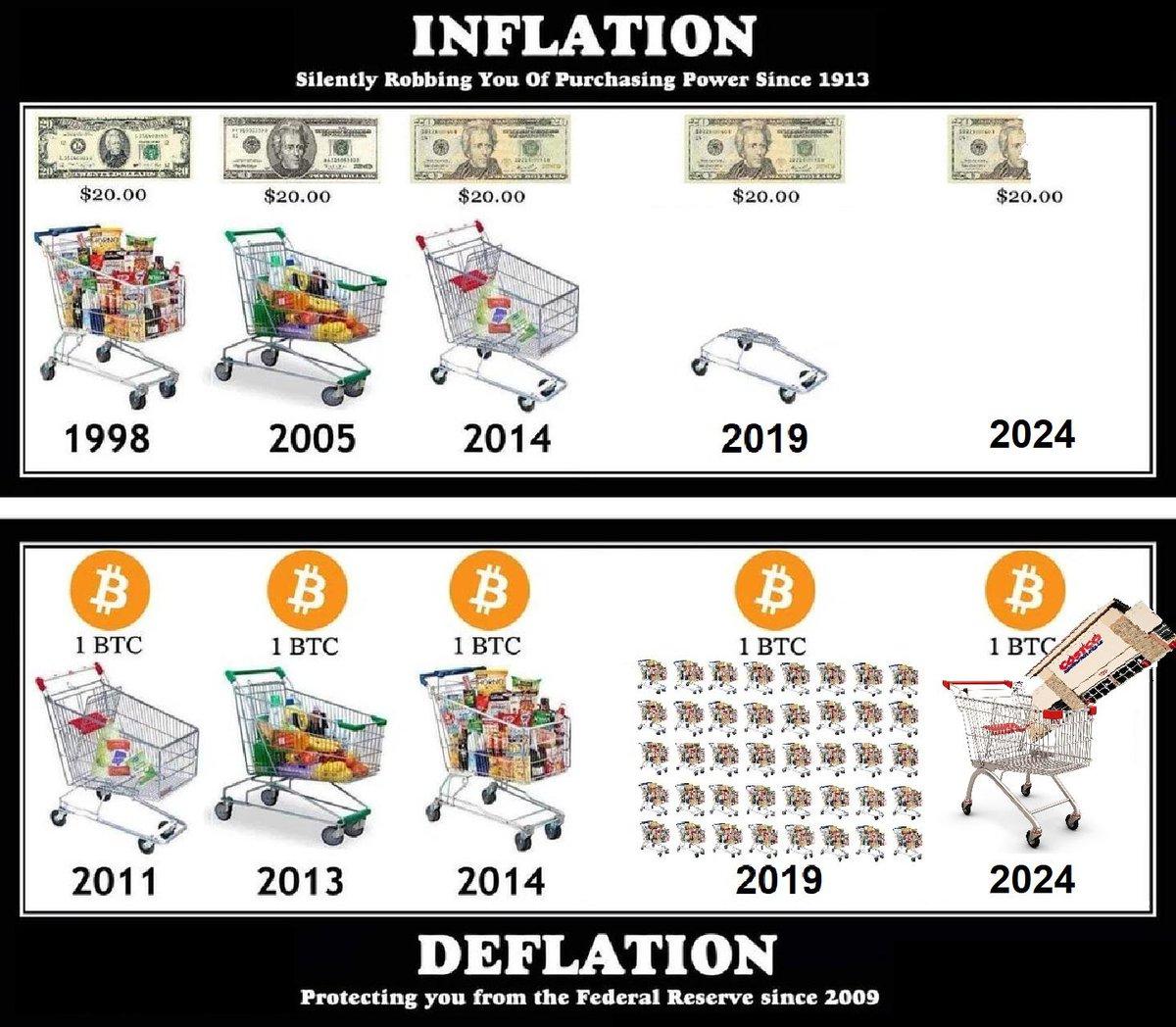 Btc inflation meme