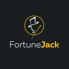 Fortune Jack Casino logo with the man in the hat on it