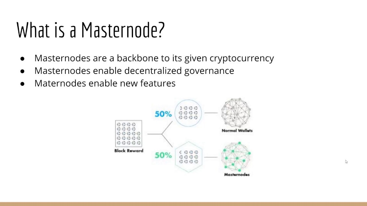 What is a masternode
