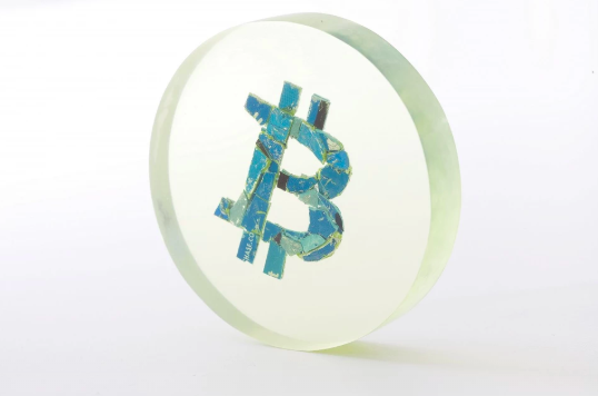 cryptograffiti , BTC Sculpture