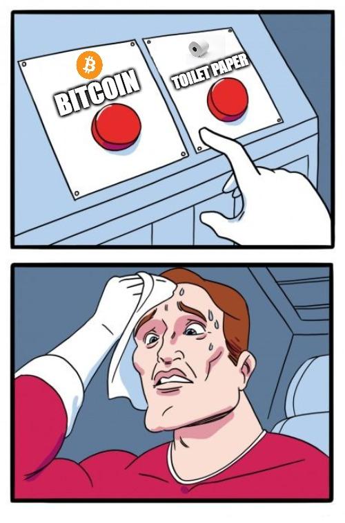 BTC Covid19 meme