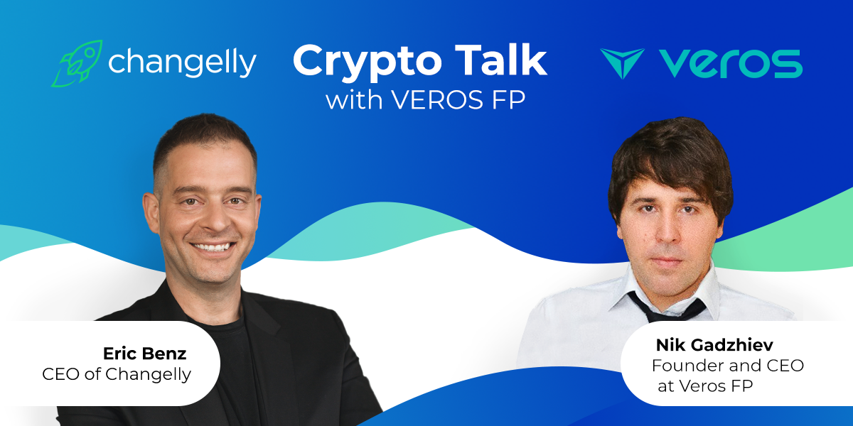 Crypto talk Changelly x VEROS Fundraising platform