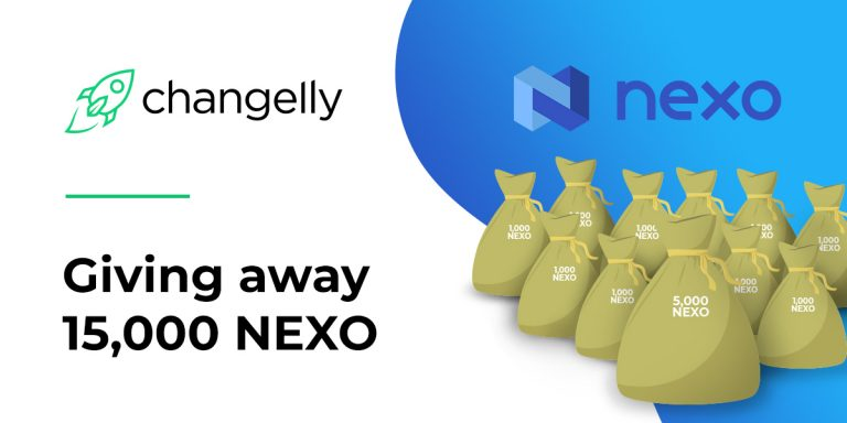 Changelly and NEXO team are giving away 15,000 NEXO