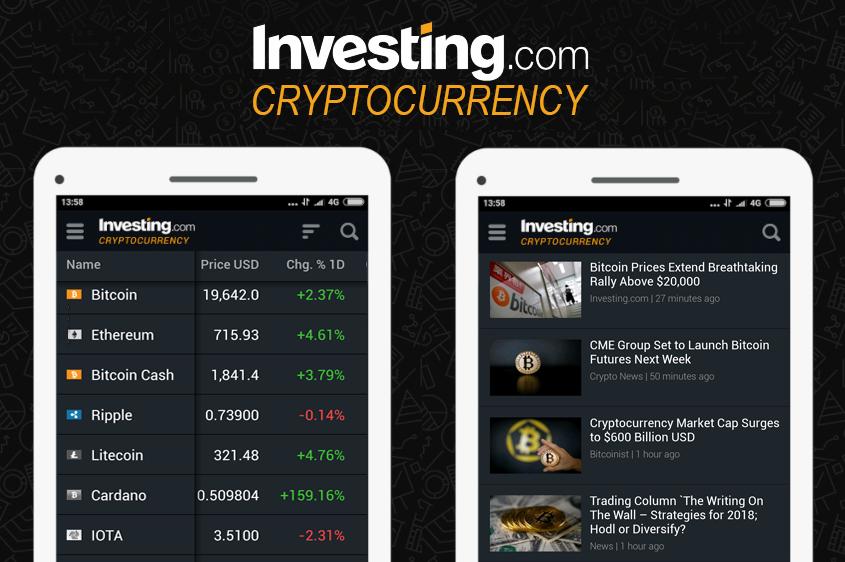 Investing.com Crypto App