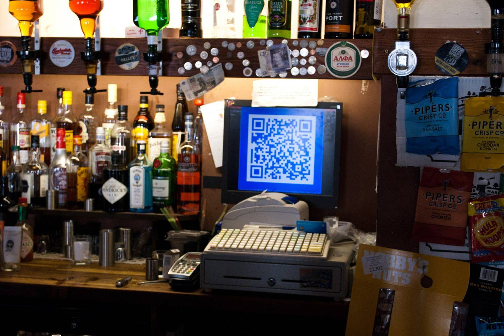 Pembury Tavern pay with BTC