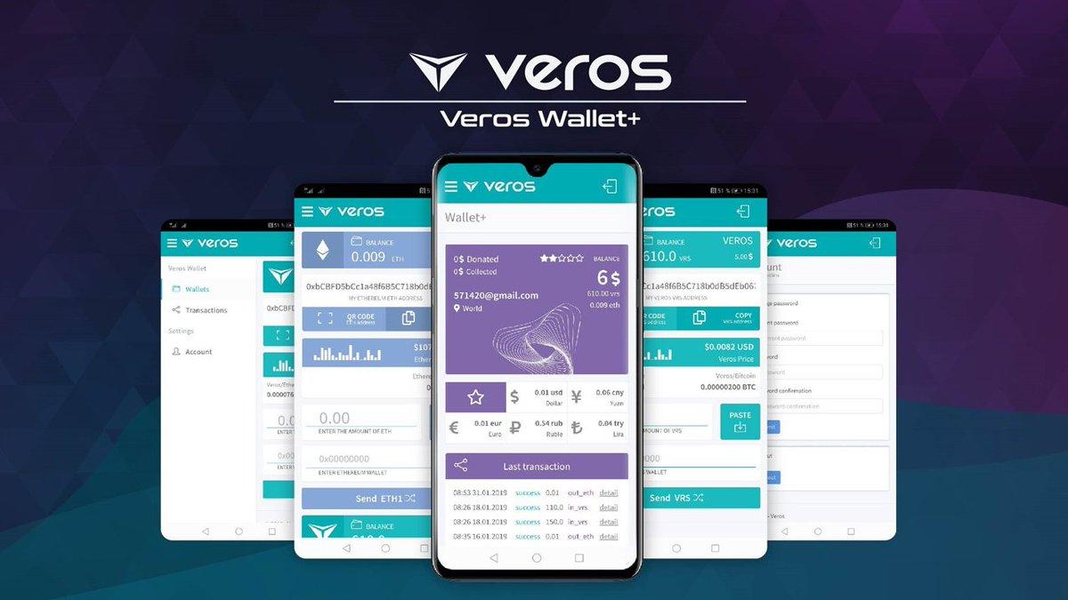 VEROS platform interface