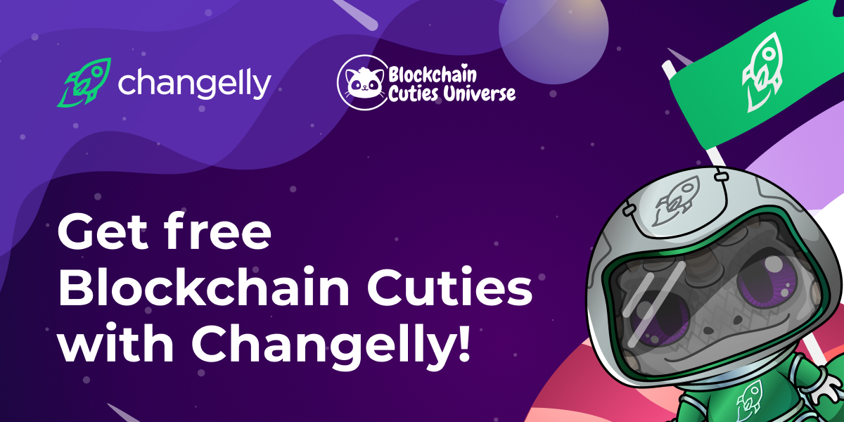 Get free Blockchain Cuties with Changelly