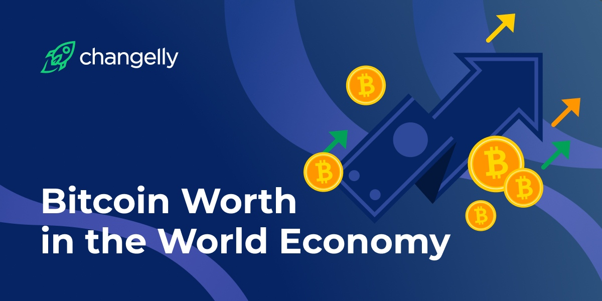 Bitcoin's worth in global economy