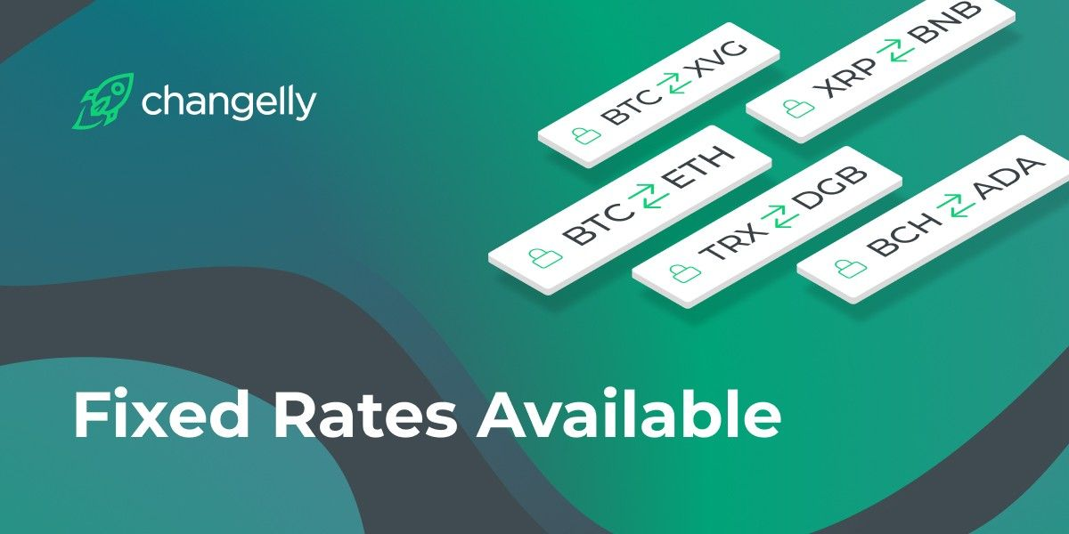 Fixed-rate exchanges on Changelly