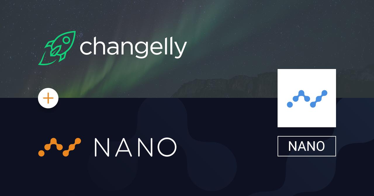 Криптовалюта Nano получает листинг на Changelly