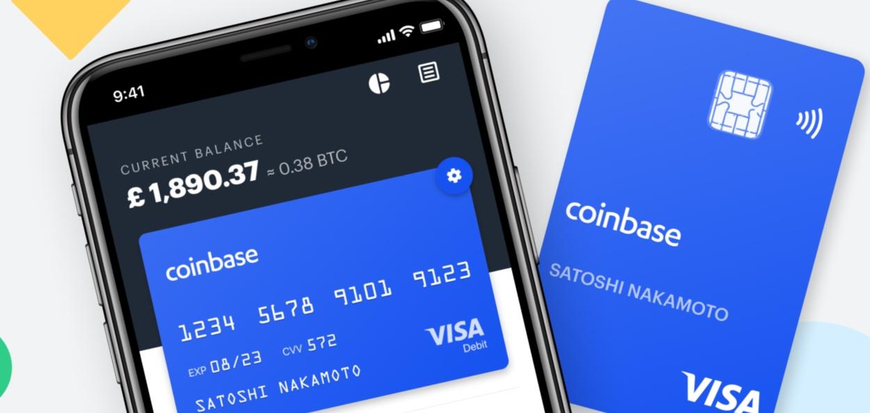 Coinbase Bitcoin Card Visa