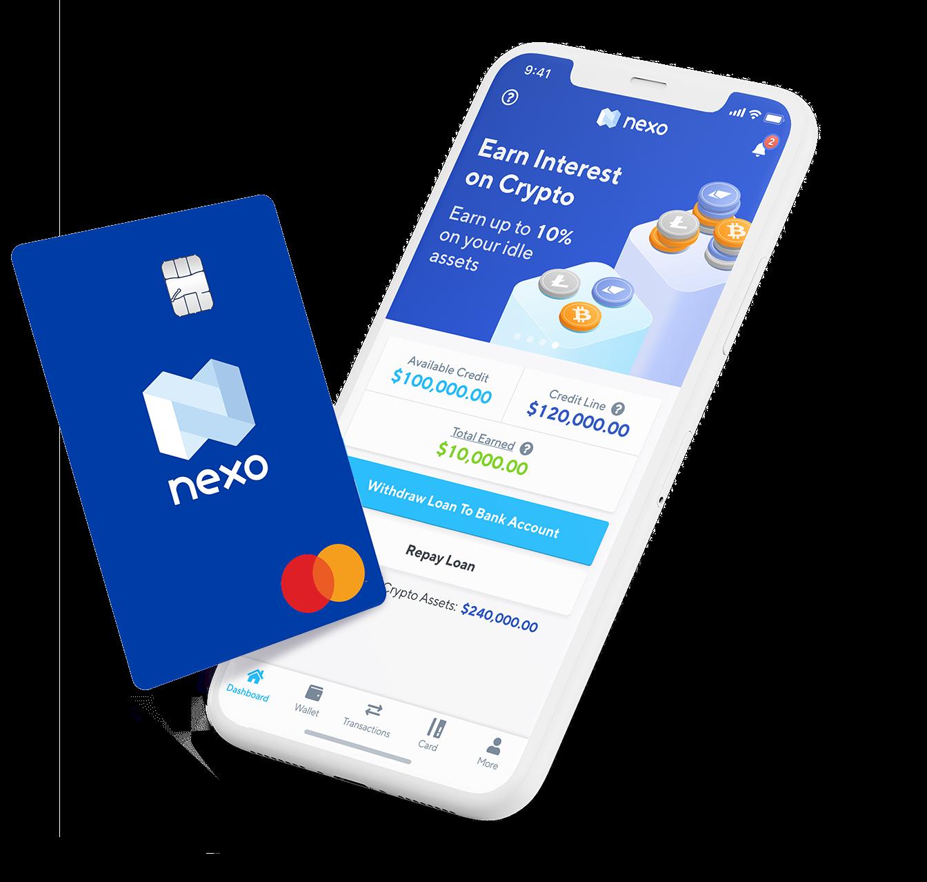 Nexo Bitcoin Credit Card