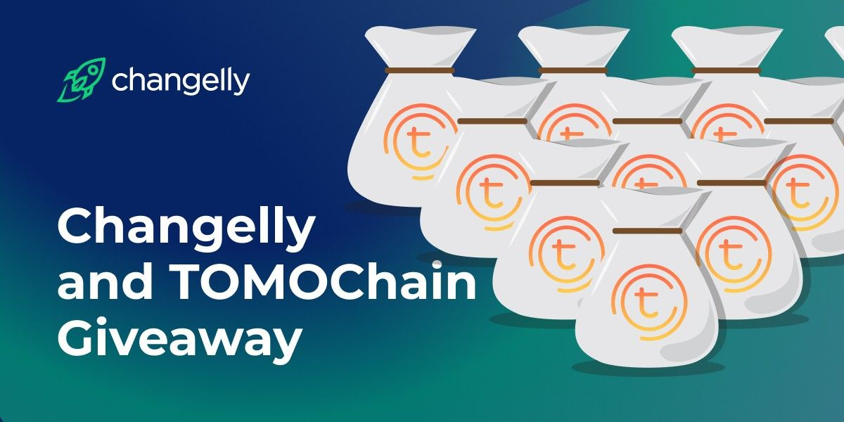 Crypto giveaway tomochain changelly