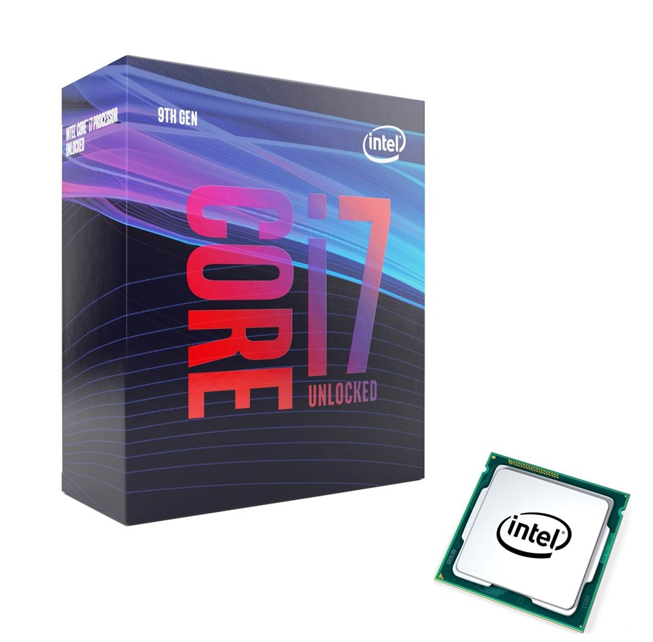 cpu illustration intel i7 9700k