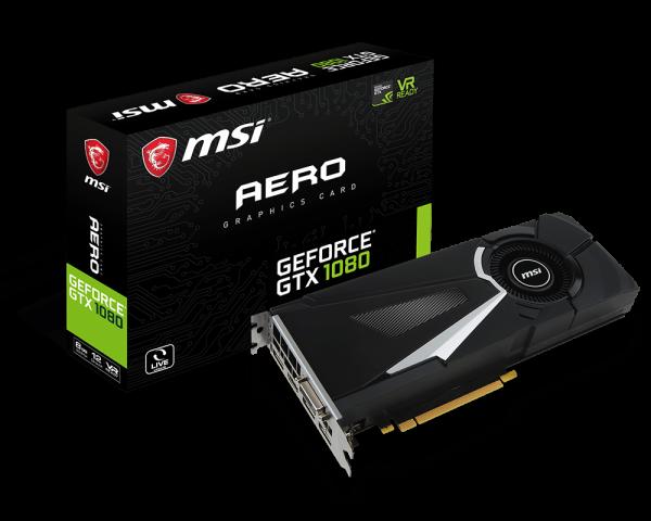 GPU Nvidia GTX 1080
