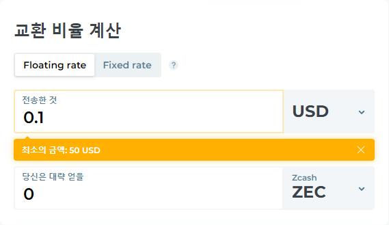 USD ZEC