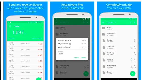 siacoin android