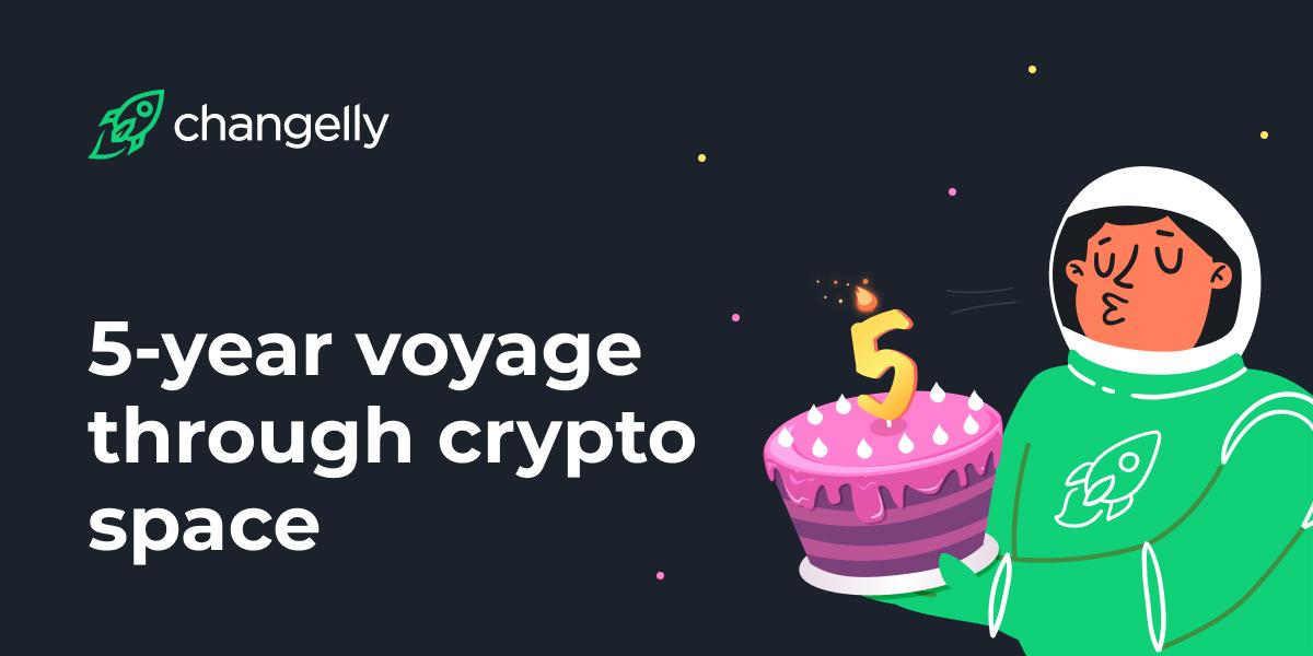 Changelly's Anniversary