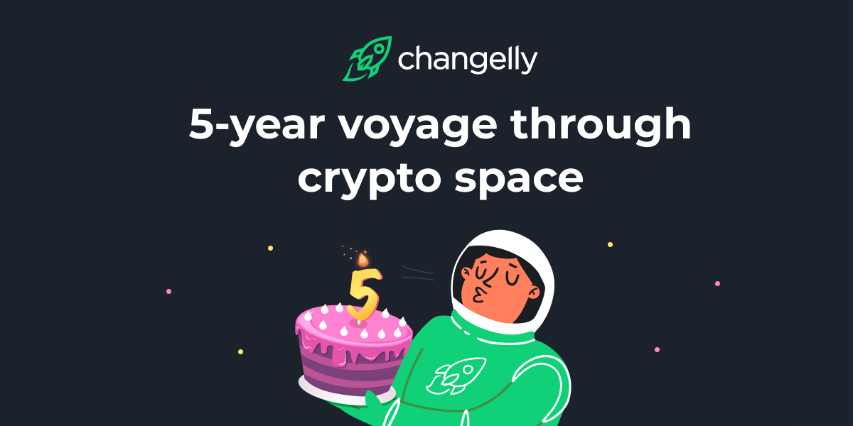 Changelly's huge anniversary giveaway is about to start