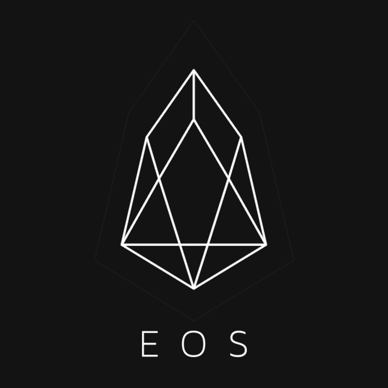 eos cryptocurrency logo