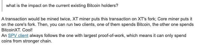 bitcoin xt fork