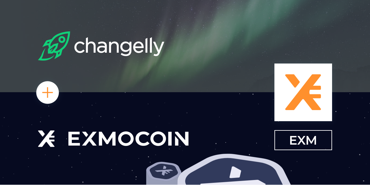 EXMO Native Token EXM is Now Listed on Changelly