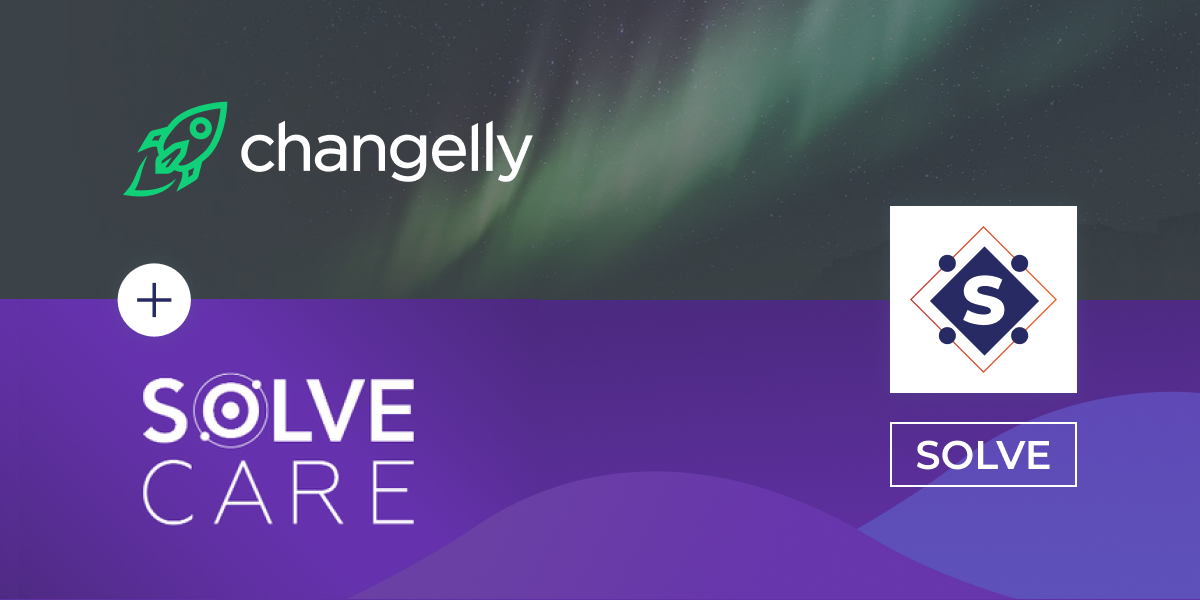 Listing of Solve on Changelly