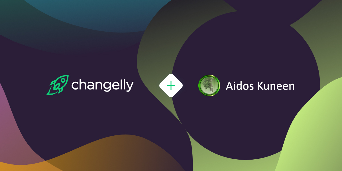 Changelly lists Aidos Kuneen Market Network's coin, ADK